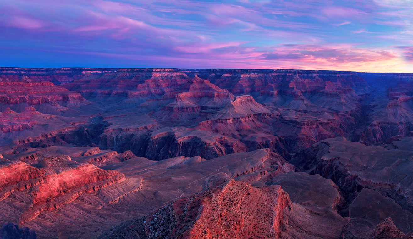 Canyon Sunrise Glow