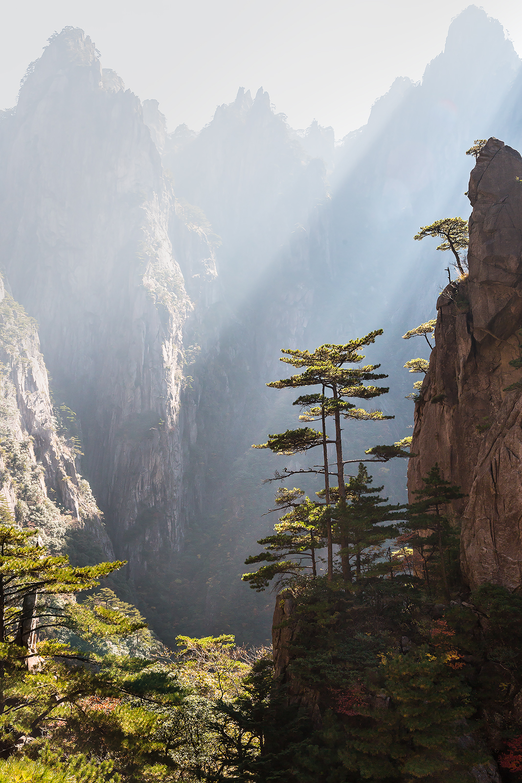 morning at Huangshan west sea