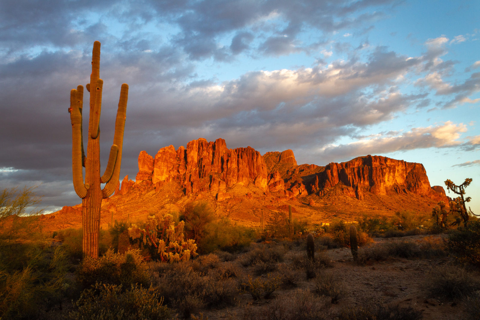 Superstitions Sunset