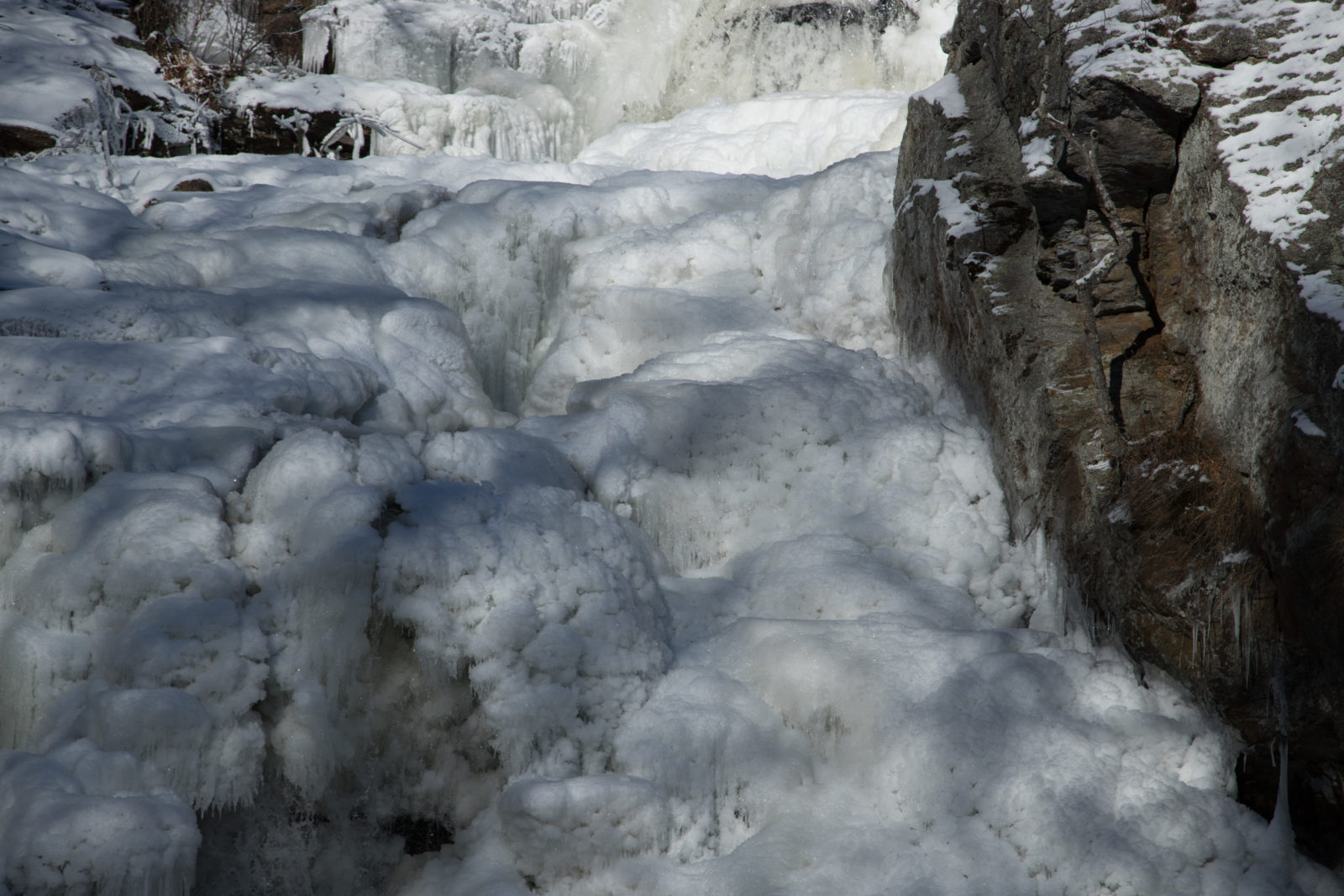 Chapman Falls in Ice