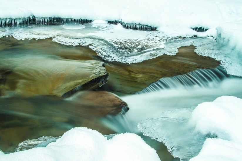 Winter Waterflow