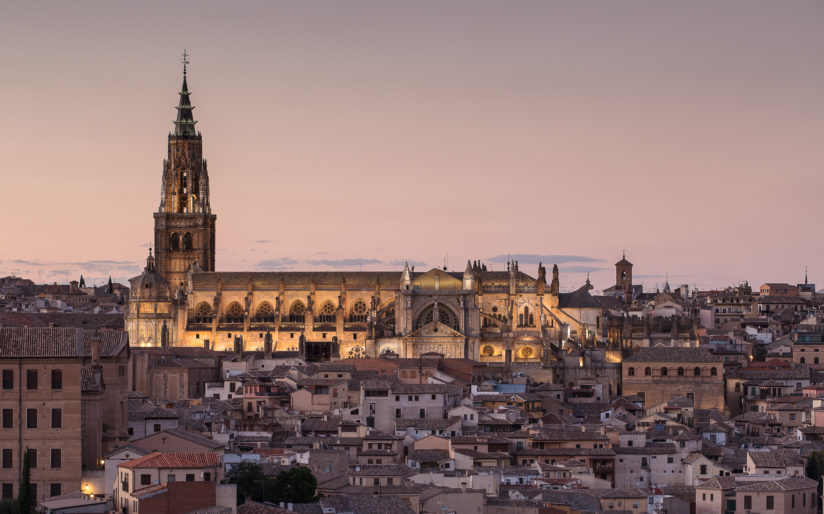 The Grand Cathedral Toledo Spain..