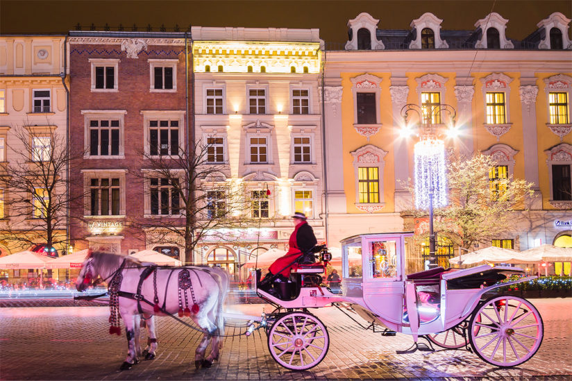 Holiday season in Krakow