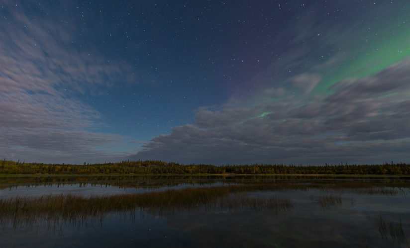 Stars, Clouds, Aurora Check…
