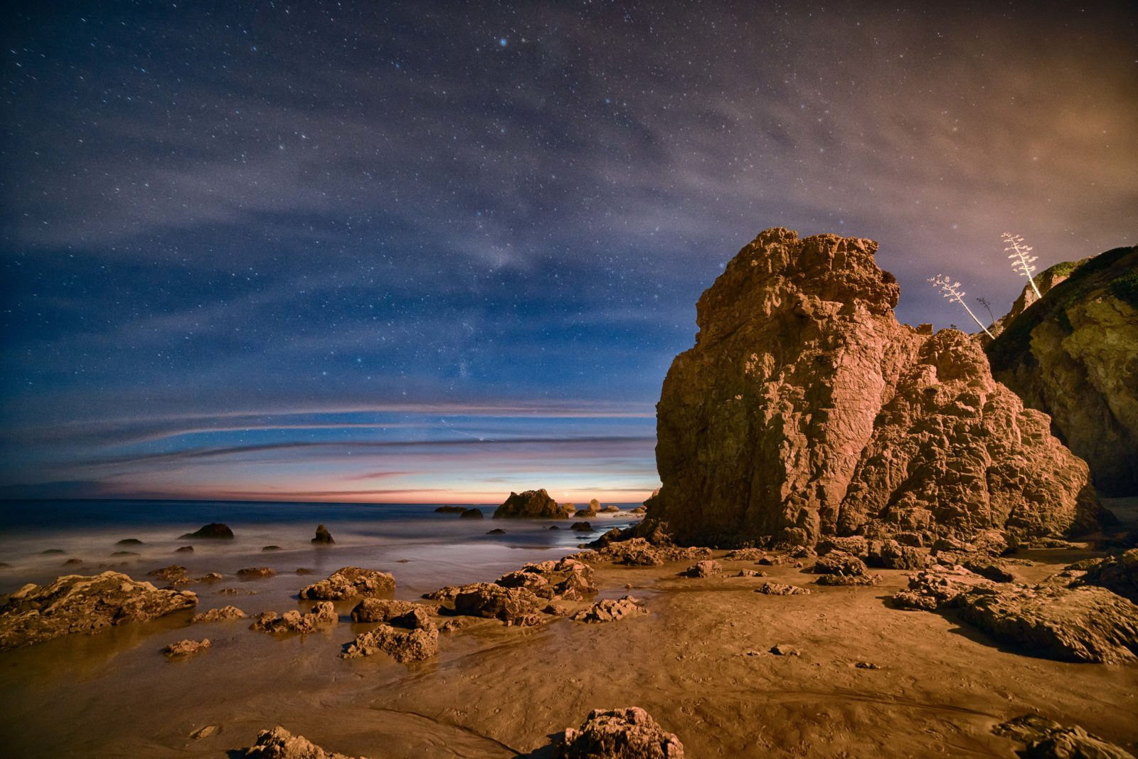Twilight at El Matador Beach