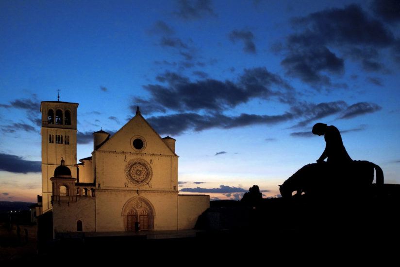 Twilight in Assisi
