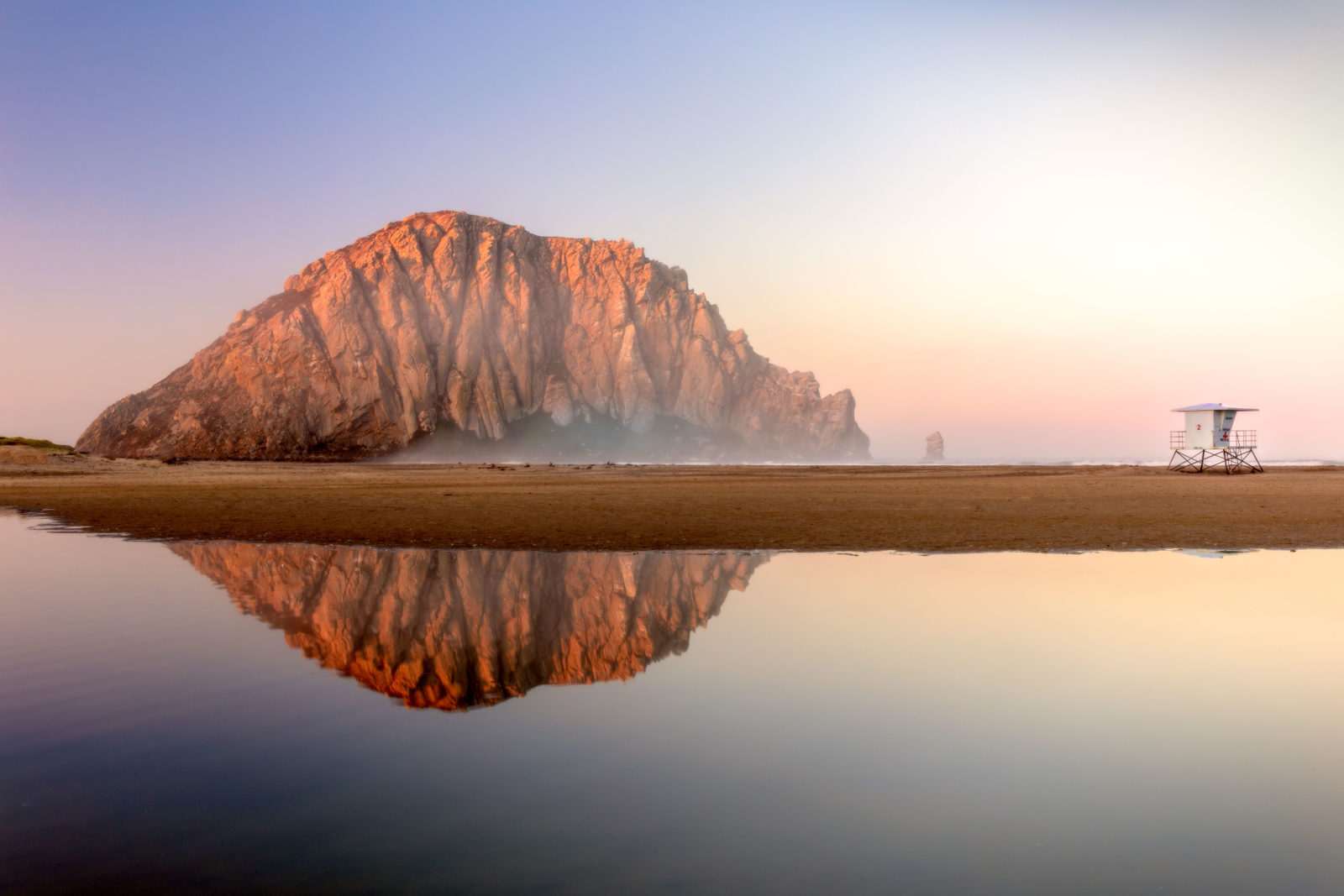 First Light on Morro Rock