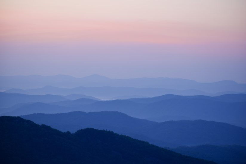 Sunrise in the Smokies
