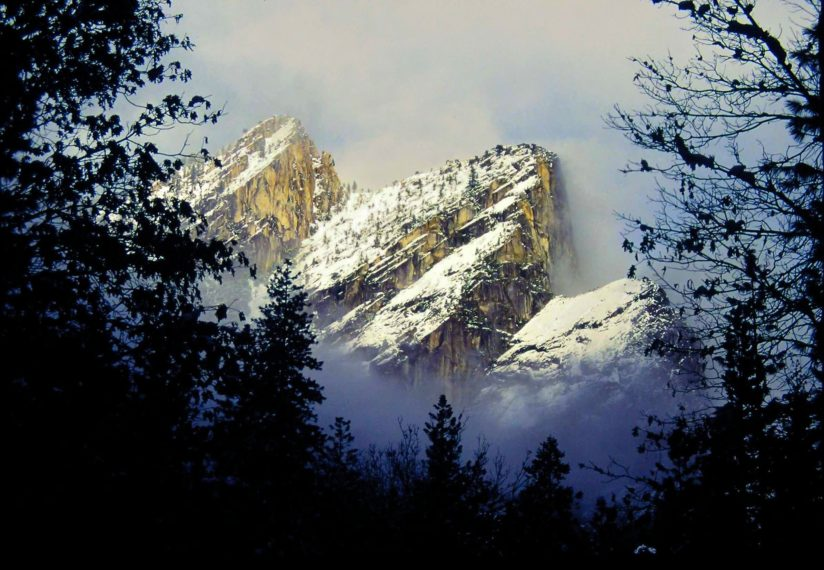 Yosemite Winter – The Three Brothers