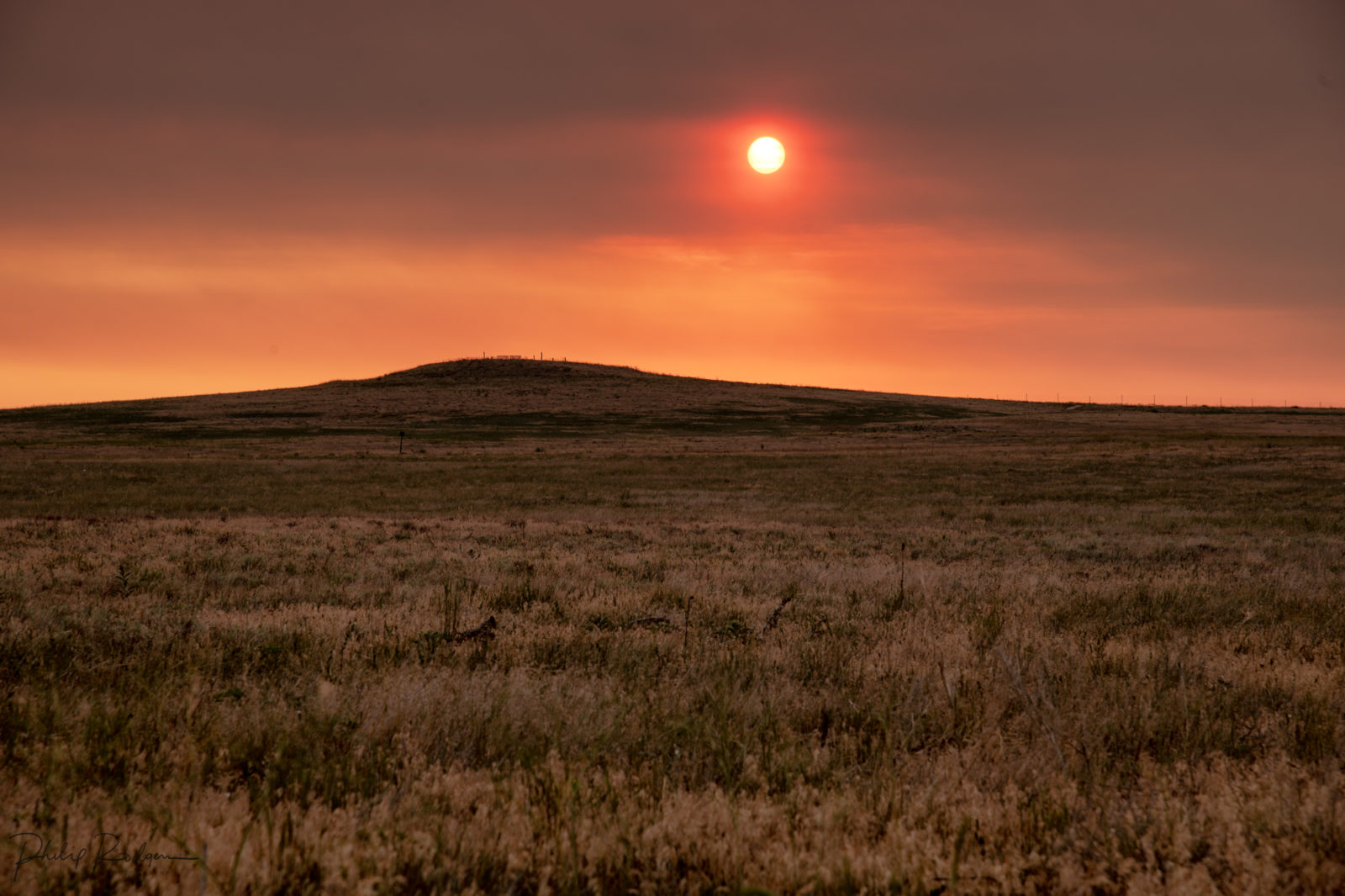 Rattlesnake Hill Smoky Sunrise