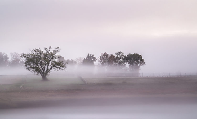 Early morning at round valley
