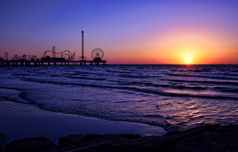 Pleasure Pier Sunrise