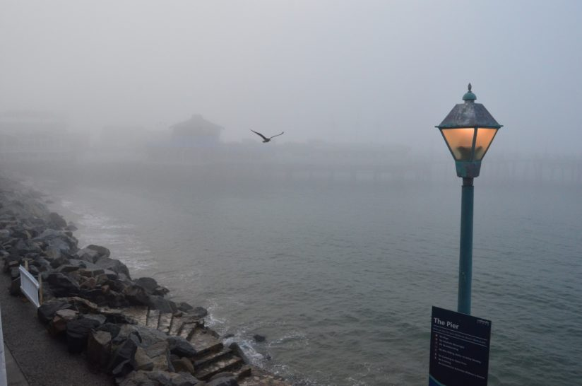 Redondo Beach Foggy Morning