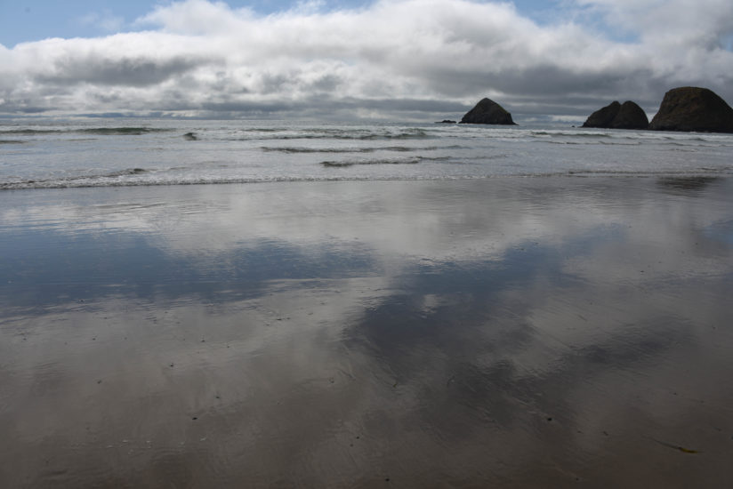 Oceanside Reflection