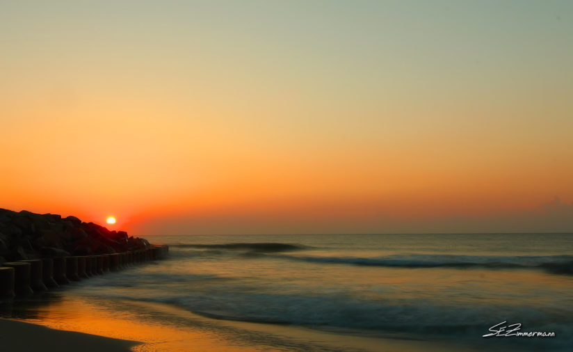 Sunrise on Kure Beach