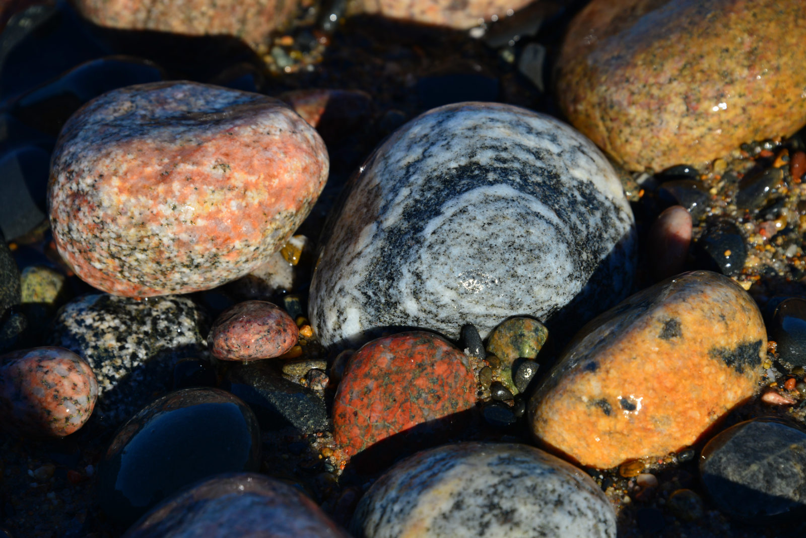 Shore Rocks, Agate Beach, Lake Superior Michigan