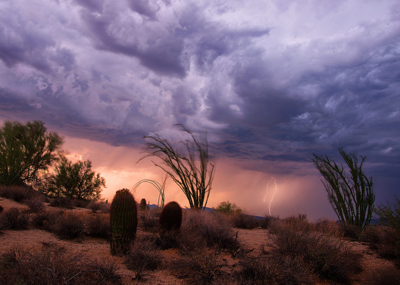Monsoon Sunset.
