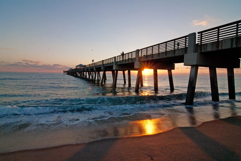 Juno Pier at Sunrise