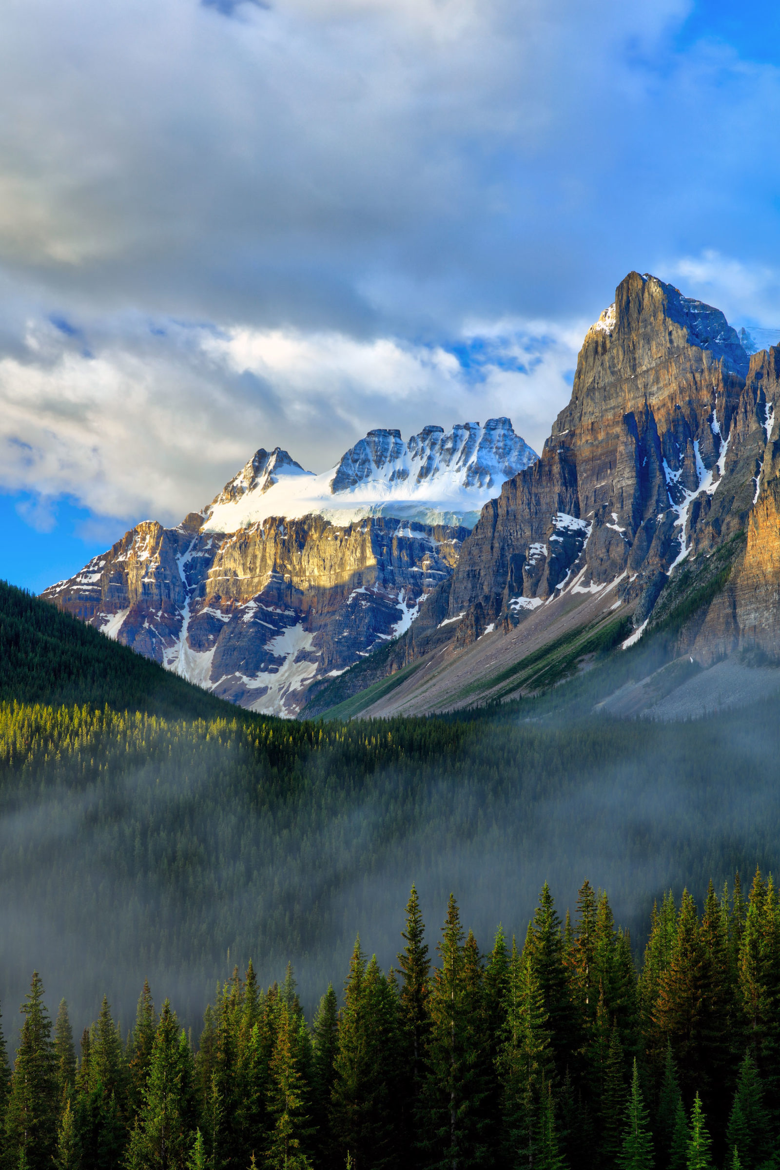 Canada Day Sunrise over the Consolation Valley, Banff National Park
