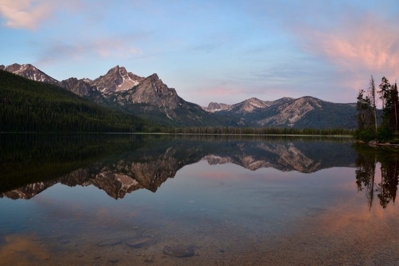 Dawn Upon Stanley Lake