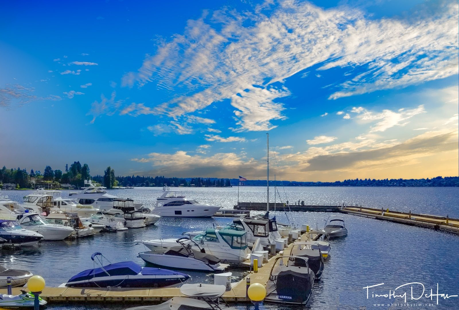 Sunset from Kirkland, WA