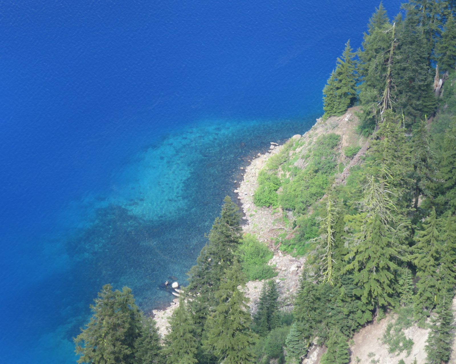 Crater Lake Shore Detail