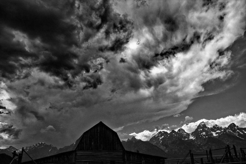 Storm Over The Tetons