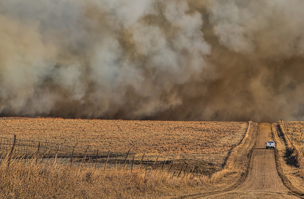 Prairie Fire Out of Control
