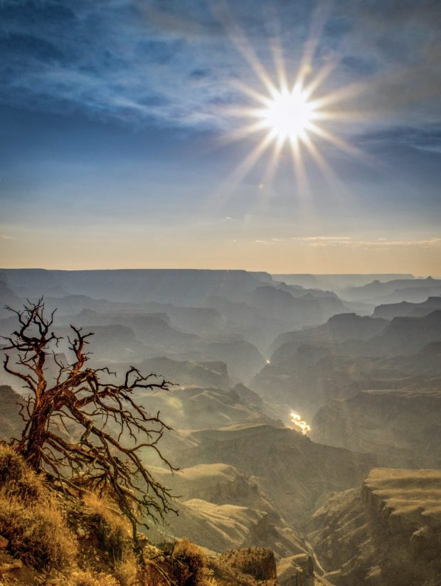 Sunburst over Lipan Point