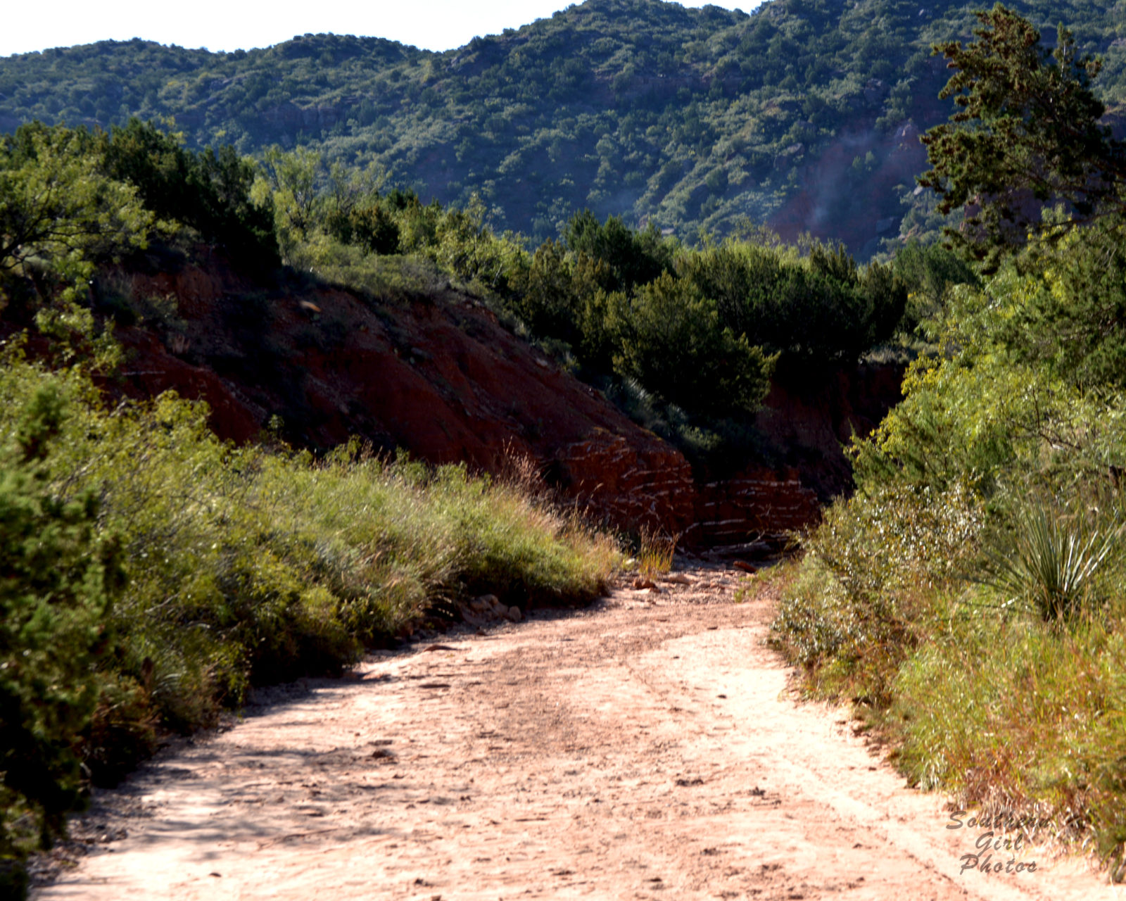 Hiking through the Caprock
