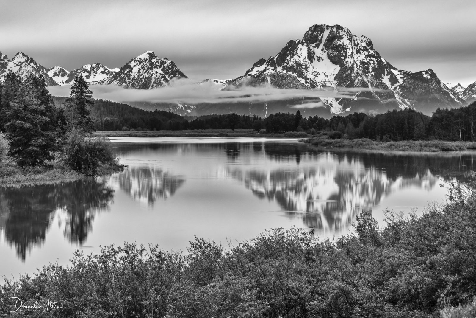 Reflections at Oxbow Bend