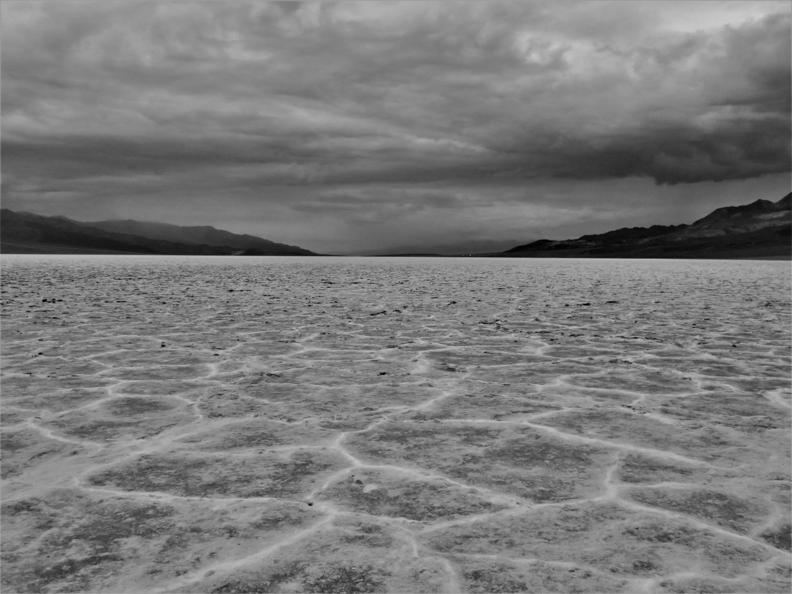 Badwater Basin Storm