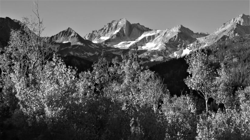 High Sierra Black and White