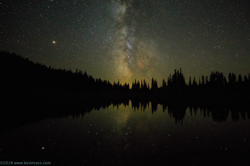 Milky Way Over Tipsoo Lake