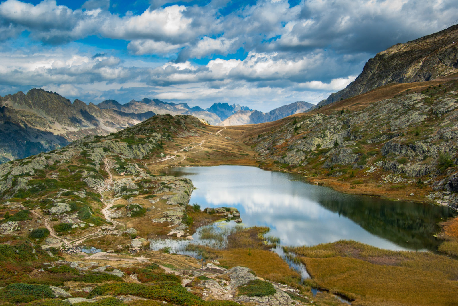 Lake Besson, French Alps