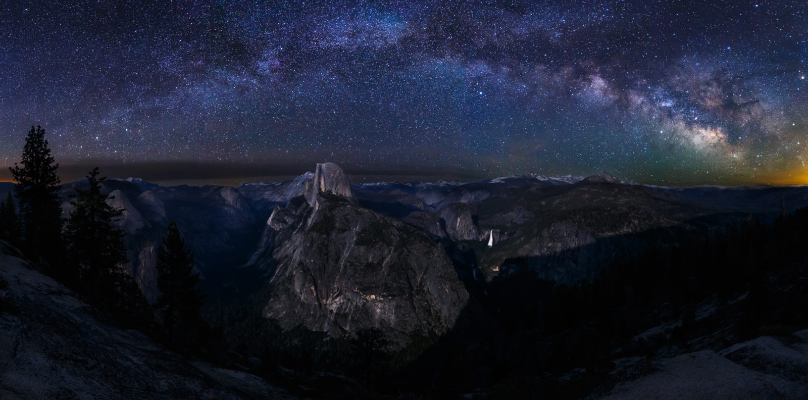 Glacier Point Milky Way