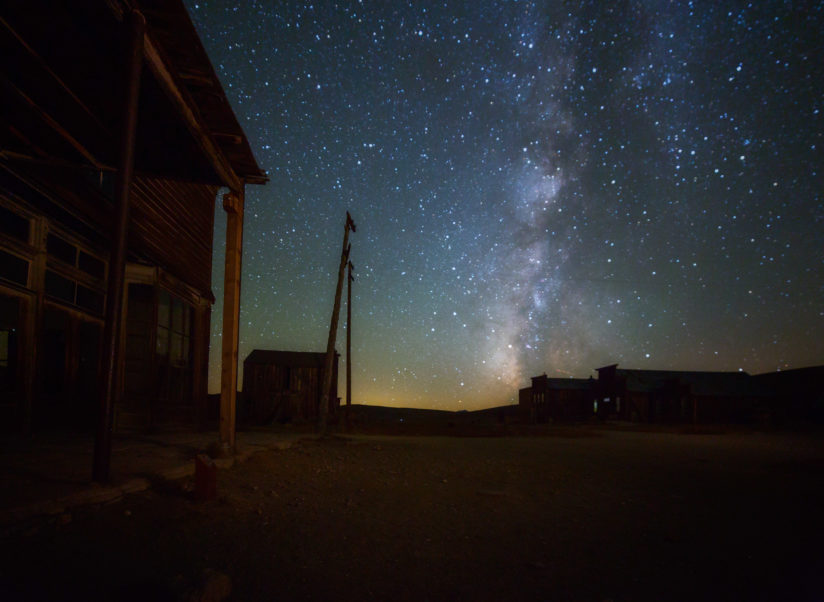 Ghost Town Milky Way