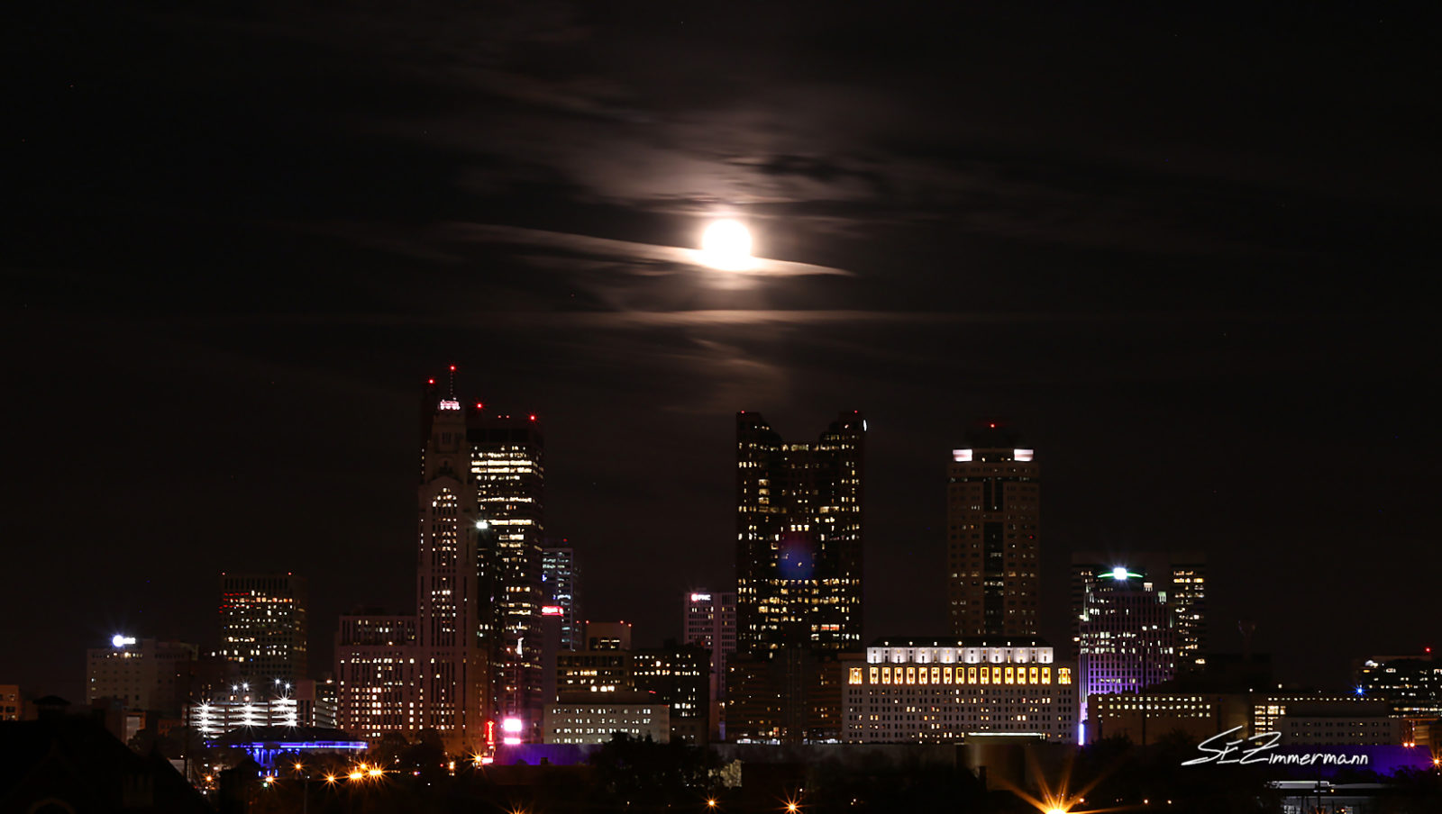 Moon Over Columbus