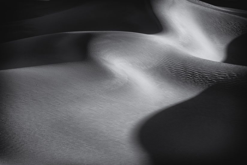 Death Valley Sinuous Dunes