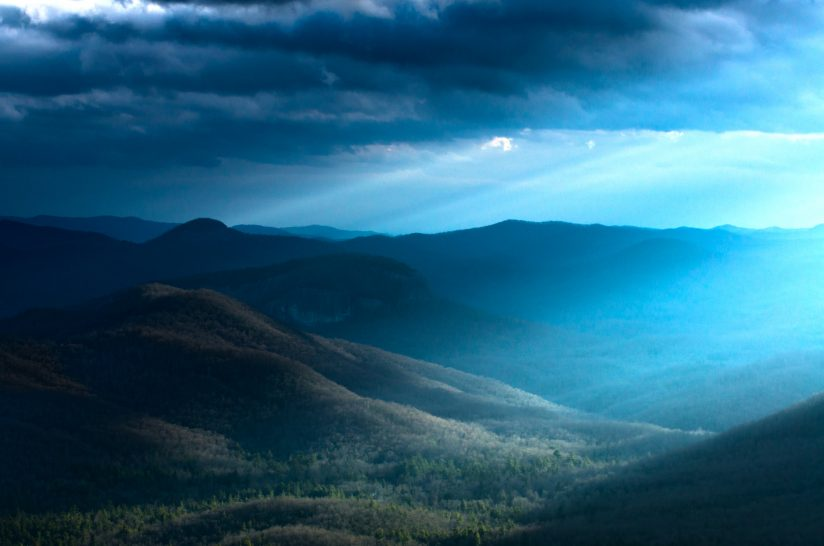 Light and Looking Glass Rock