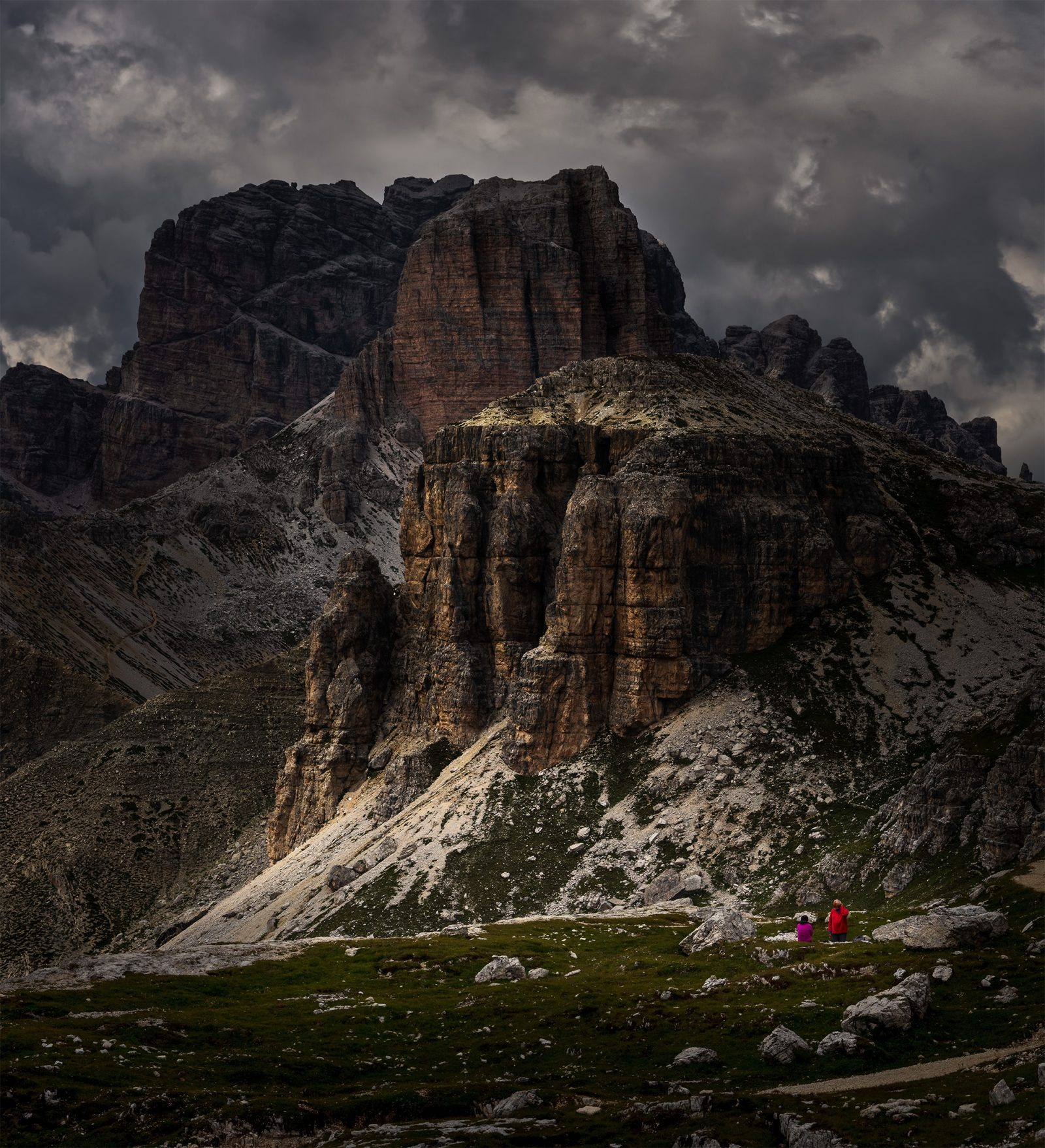 Lights in the Dolomites No.1.