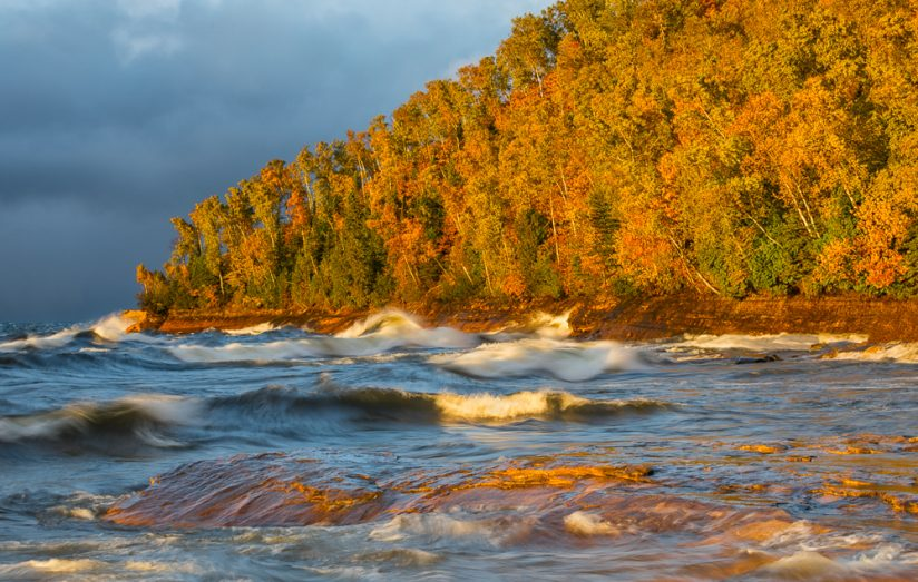Autumn Storm, Lake Superior