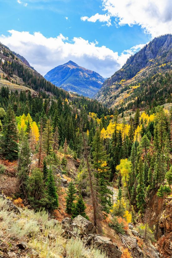 View from Ouray Perimeter Trail
