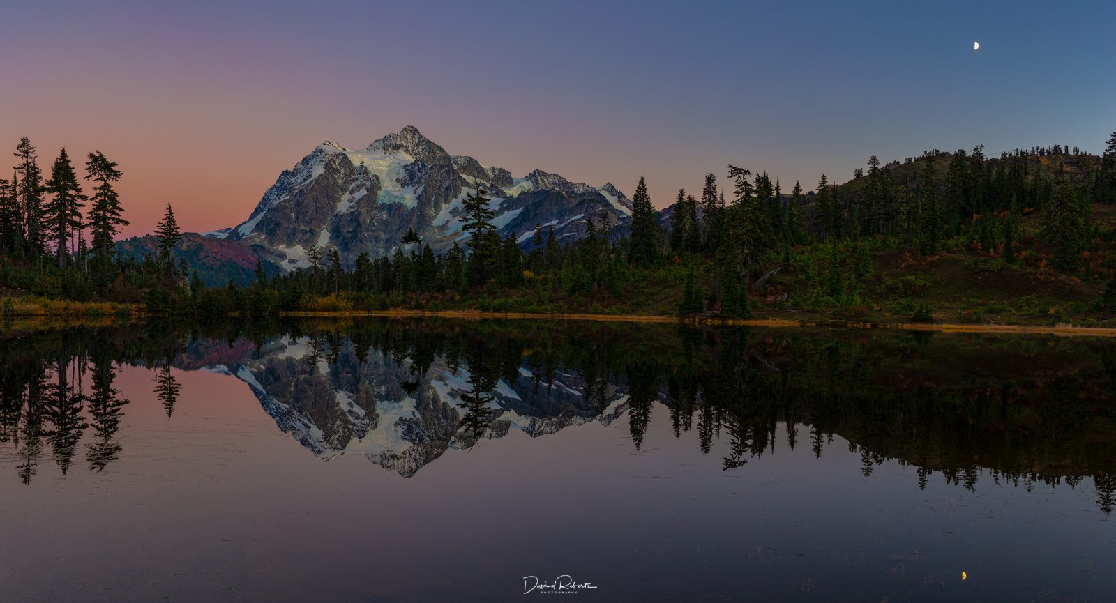 Blue Hour at Mt Shuksan
