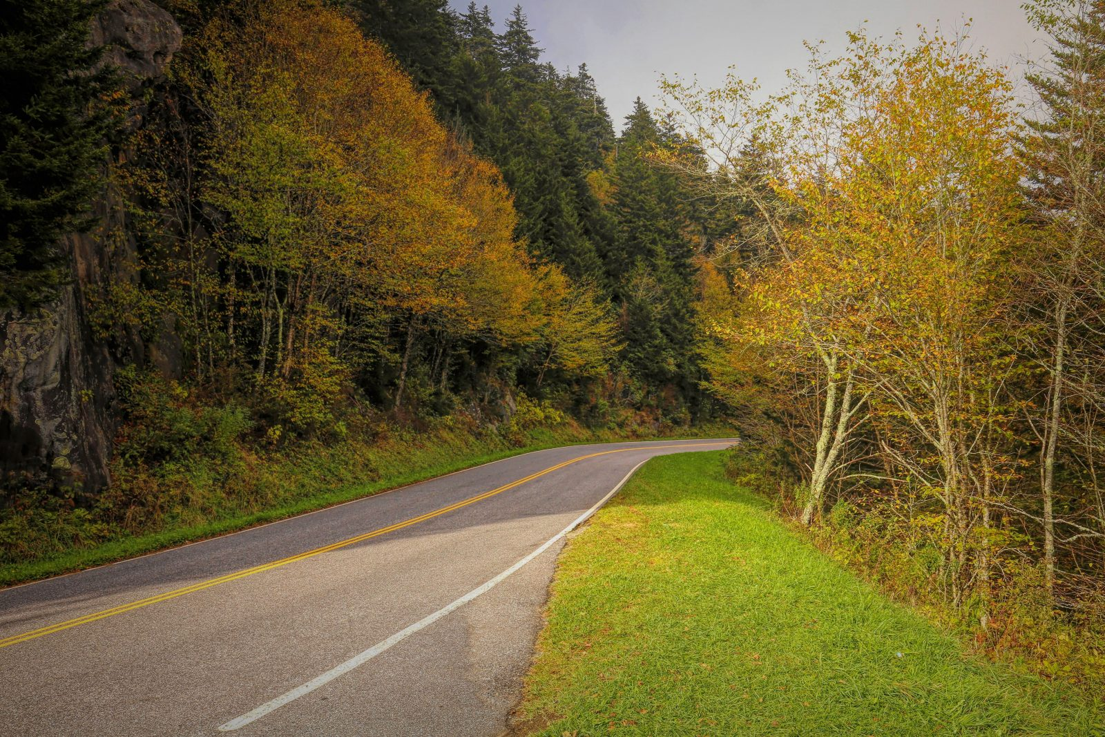 Smoky Mountains National Park Road