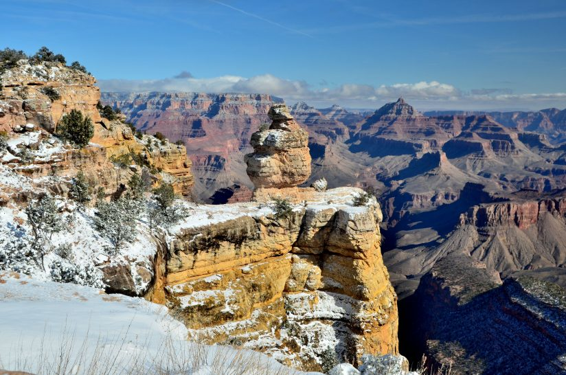 Grand Canyon Winter – Duck Rock