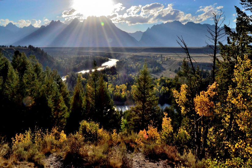 Grand Tetons – Snake River Overlook