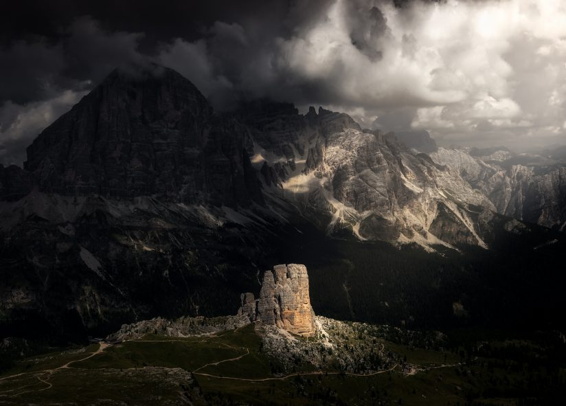 Lights in the Dolomites No.6.
