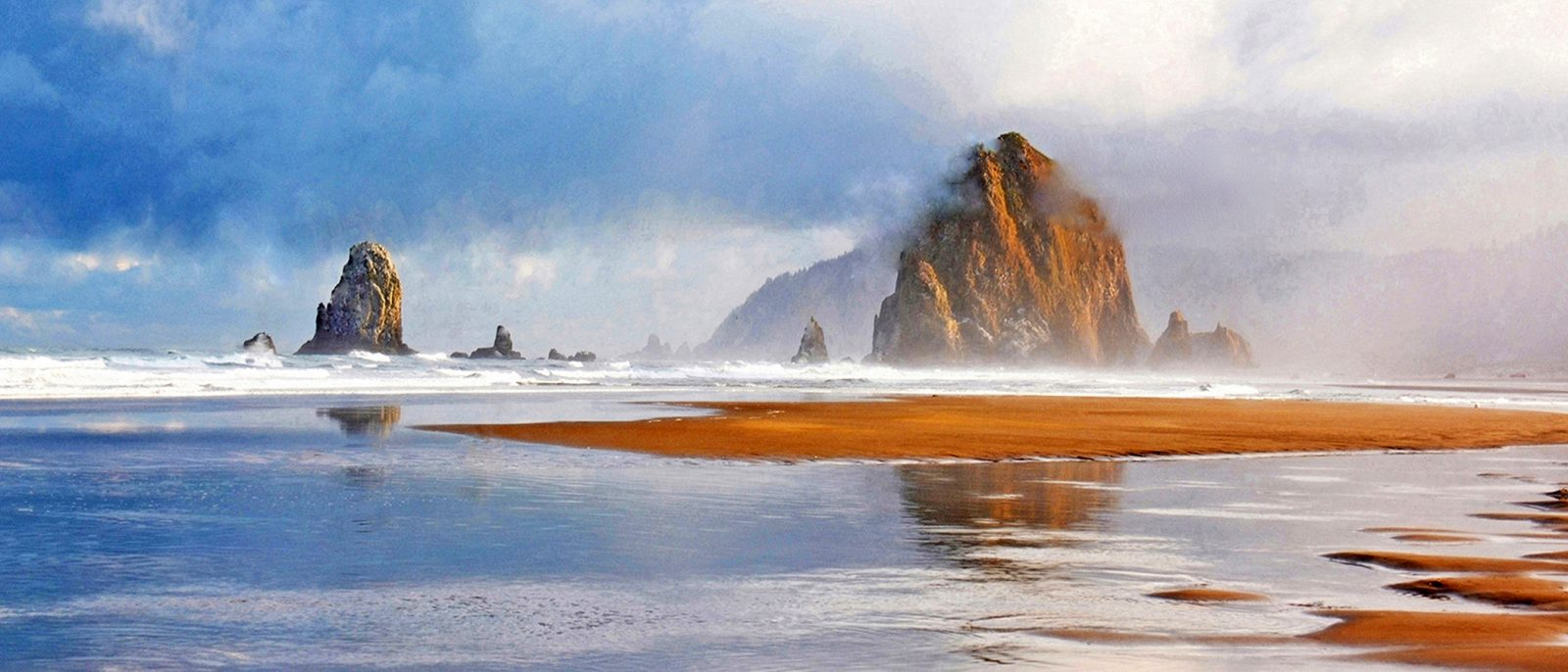 Stormy Morn', Cannon Beach