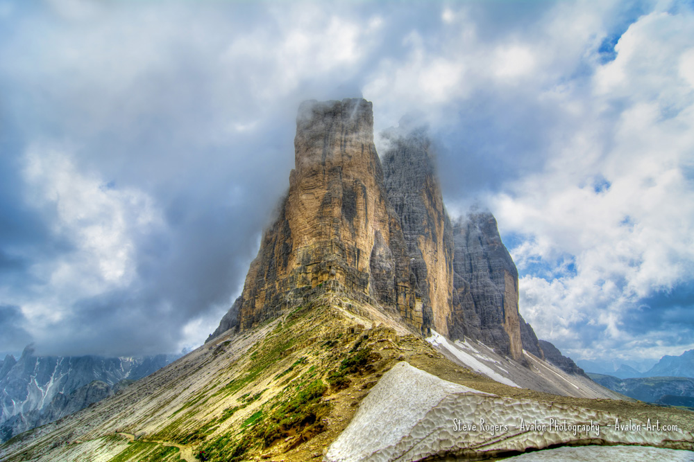 Tre Cime on a Summer Day